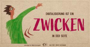 """""""Digitalisierung ist ein Zwicken in die Seite."""""""