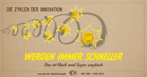 """""""Die Zyklen der Innovation werden immer schneller. Das ist Fluch und Segen zugleich."""""""
