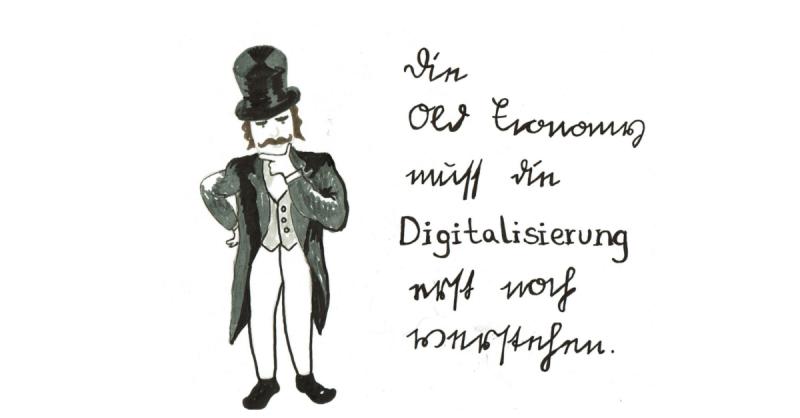 Die Old Economy muss die Digitalisierung erst noch verstehen.