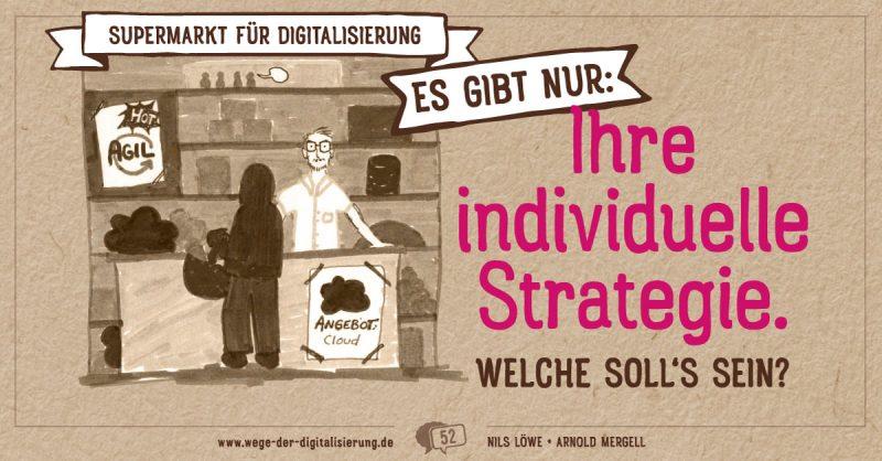 Supermarkt für Digitalisierung es gibt nur: Ihre individuelle Strategie welche sollen Sie sein