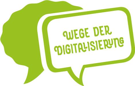 Wege der Digitalisierung Logo