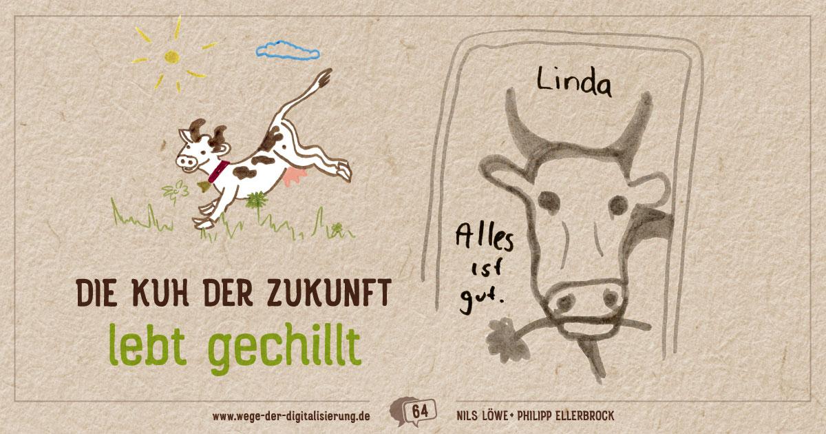 Die Kuh der Zukunft lebt gechillt